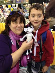 Alyson and Babymouse and Jr. Librarian!