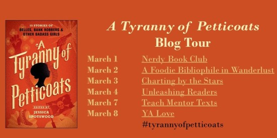 a tyranny of petticoats blog tour banner